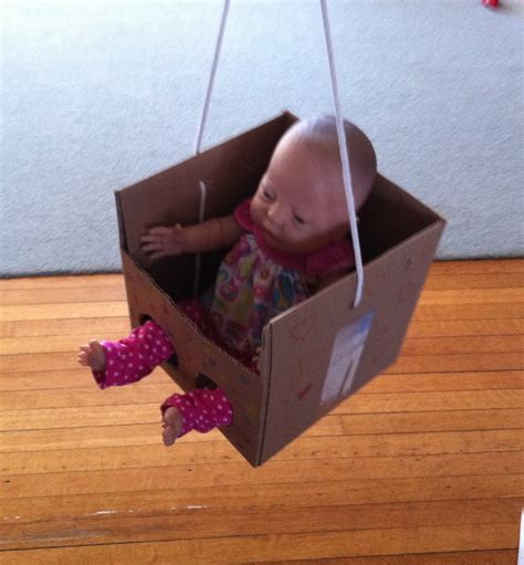 door swing baby growing play pretend swing for the doll