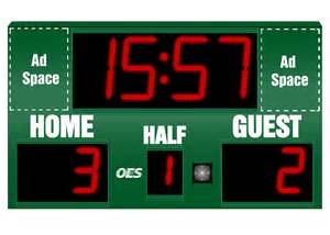 Soccer Scoreboard