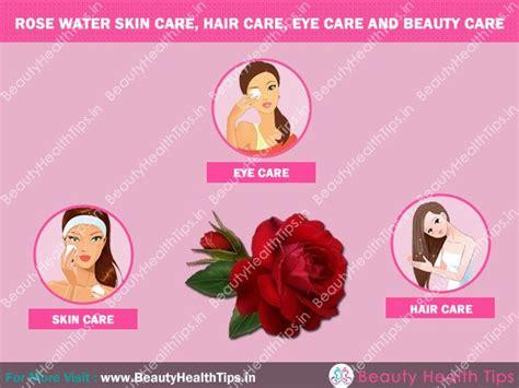 popular benefits  rose water  skin hair eye
