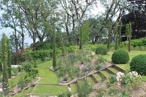 Jardin En Pente Raide : am nagement jardin en pente douce comment profiter du d clin du terrain ~ Melissatoandfro.com Idées de Décoration
