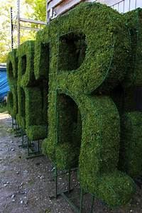 letters archives bespoke topiary plant sculptures With artificial topiary letters