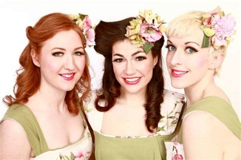 harmonies fantastic vintage themed female trio