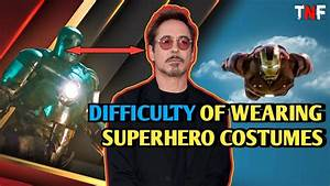 10, Marvel, Stars, Who, Shared, The, Challenges, Of, Wearing, Superhero, Costumes