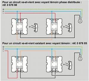 Branchement Interrupteur Temoin Lumineux Legrand : va et vient avec voyant sans neutre ~ Dailycaller-alerts.com Idées de Décoration