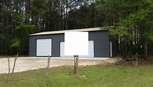 Garage Central : 24x46x12 vertical roof style side entry garage ~ Gottalentnigeria.com Avis de Voitures