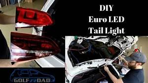 Diy Golf R Euro Led Tail Light Mod