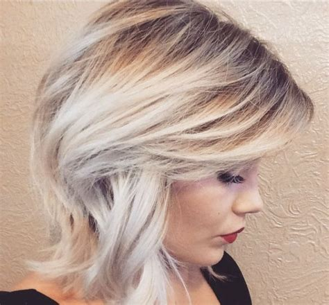 Platinum Hairstyles by Platinum Ombre Hairstyles Photos And Tutorials