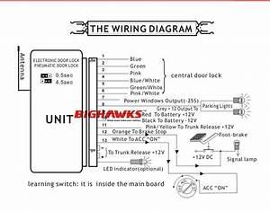 Keyless Entry System Oem Brand Bighawks K905 M604