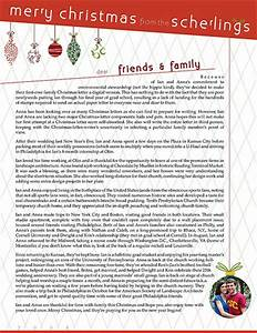 best photos of family annual christmas letter examples With religious christmas letters