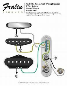 Way Wiring Diagram For Tele Telecaster Guitar