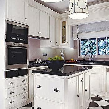 black  white checkered floor design ideas