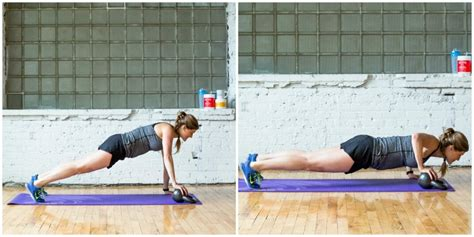 kettlebell push workout conditioning ups kb row arm lunge reps strength leg per vital proteins