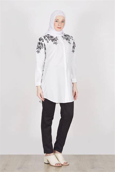 blouse tunik bordir koleksi terbaru model baju atasan 28 images koleksi