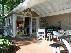 Backyard Outdoor Kitchen Sheds