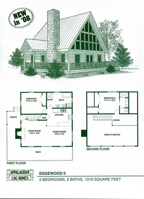 Cabin Floor Plans Log Home Floor Plans Log Cabin Kits Appalachian Log