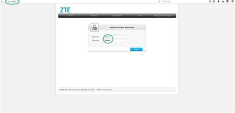 If you are still unable to log in, you may need to reset your router to it's default settings. Steps to configure ZTE H268A - ExeWiki
