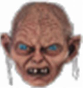 Emoticon GIFs for Gollum | free shock smiley faces