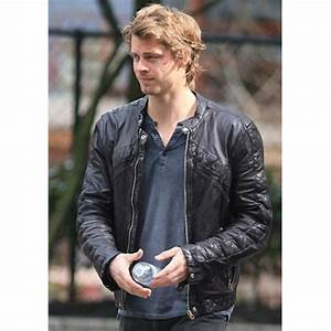 John Young The Tomorrow People Luke Mitchell Leather Jacket