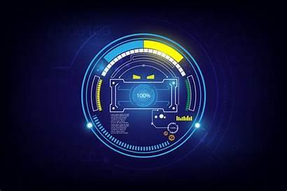 Sci Fi Screen Vector Futuristic Loading Vecteezy