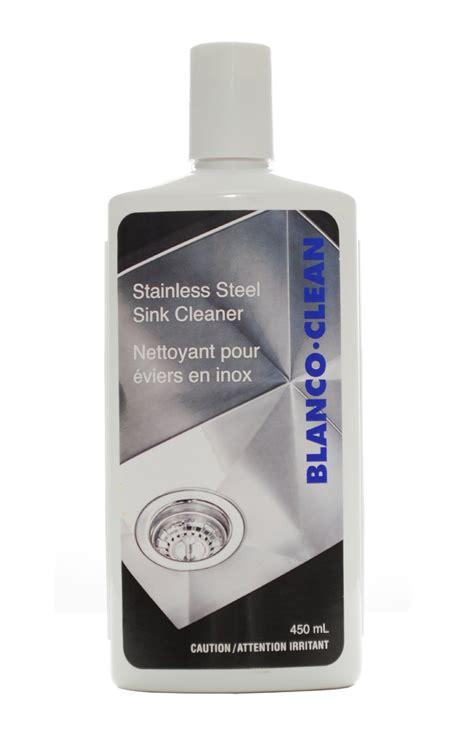 blanco silgranit sinks cleaning blanco 406214 blancoclean stainless steel sink cleaner ebay