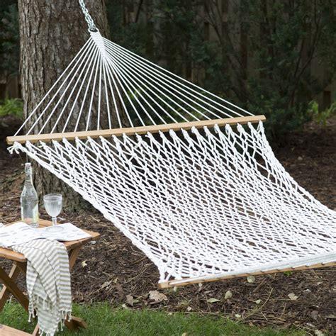 island bay xl thick rope hammock   hanging
