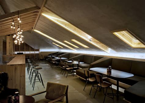 attic bar  inblum architects minsk belarus