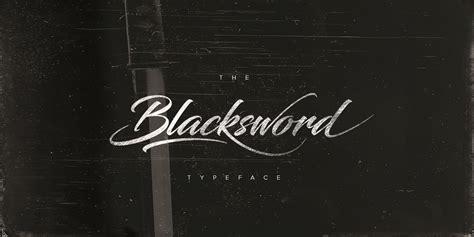 blacksword font befontscom