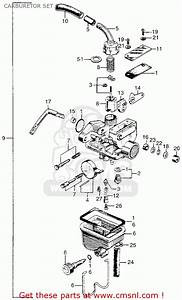 Honda Z50a Mini Trail K1 Usa Carburetor Set