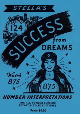 Stella's Success From Dreams Number Book By Stella For