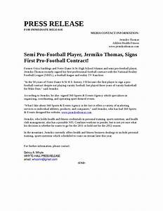 semi pro football player signs first pro football contract With football contract template