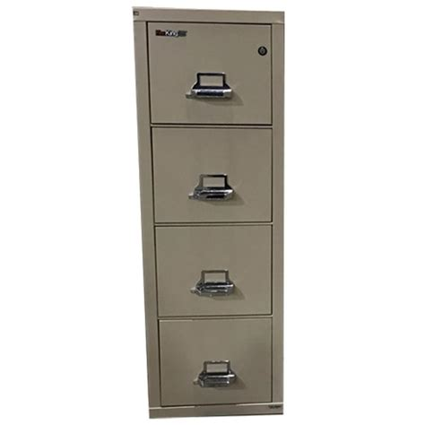 used office file cabinets fire king 4 drawer lateral