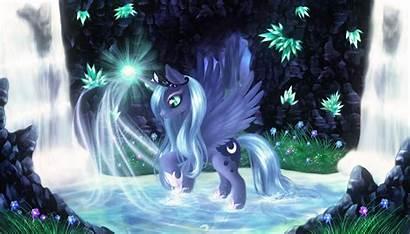 Luna Princess Anime Mlp Pony Celestia Fan