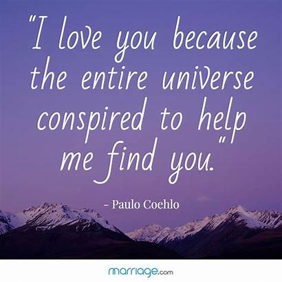 Quotes Marriage Because Universe Entire Help Quote