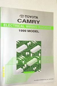 1999 Toyota Camry Electrical Wiring Diagram Shop Manual