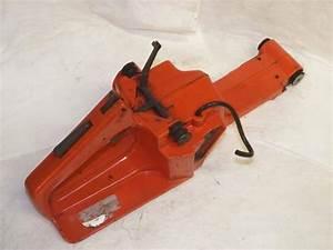 Husqvarna 268  272xp Chainsaw Fuel Tank Rear Trigger