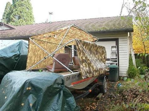 Homemade Duck Boat Blind Plans by Boat Ihsan Access Avery Duck Boat Blind Plans