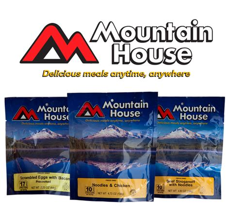 mountain house meals the ready store free sle of mountain house freeze