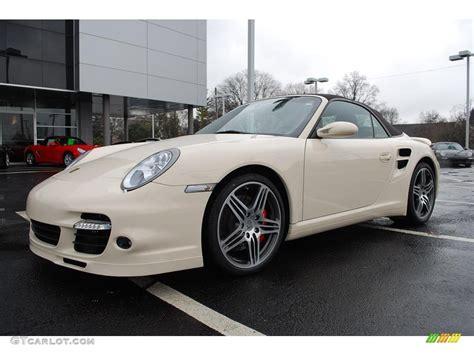 white porsche 911 turbo 2009 cream white porsche 911 turbo cabriolet 5195373