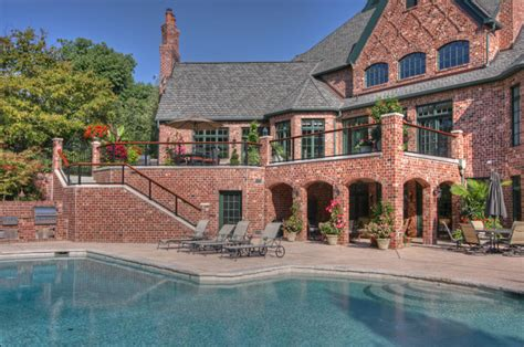 luxury deck and patio traditional pool st louis by