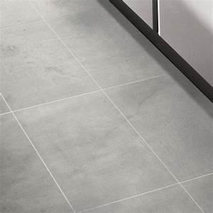 Carrelage Interieur Gris : carrelage sol et mur gris 30 x 60 cm cementina castorama carrelage tiles flooring et tile ~ Melissatoandfro.com Idées de Décoration