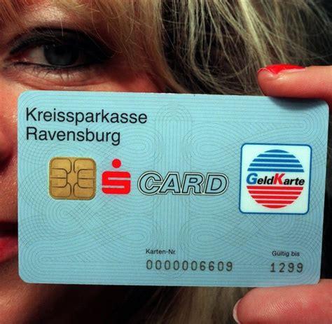 neue bezahlsysteme sparkasse   millionen ec karten