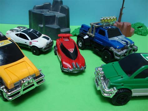 Turbo Power Rangers  Turbomegazord Cars By