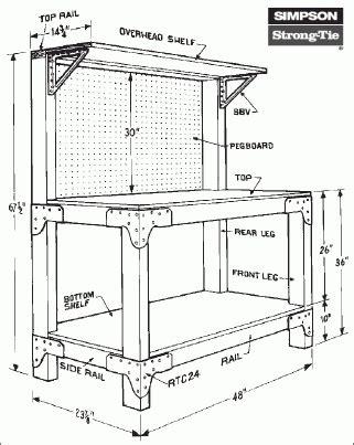 plans workbench plans reloading  barn toy box