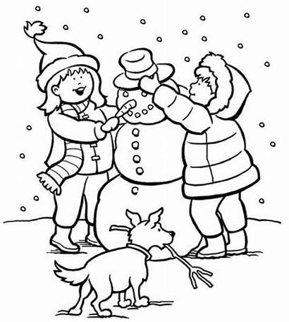 Coloring Winter Printable Pages