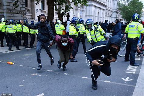 Priti Patel warns 'hooligans' who subverted Black Lives ...