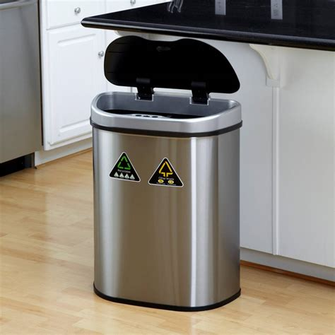 kitchen cart with trash bin 22 amazing ideas of the tilt out trash bin for your home