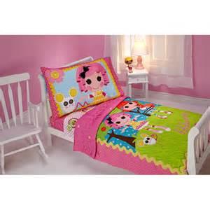 lalaloopsy sew cute 4pc toddler bed set walmart com