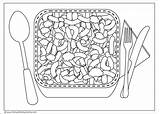 Cheese Mac Coloring Drawing Pages Template Macaroni Bowl Getcoloringpages Sketch Drawings Swiss Mouse Pizza Recipe Paintingvalley Menudo sketch template