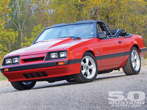 M5lp 1106 01 O1986 Ford Mustang Lx Convertibletop Down