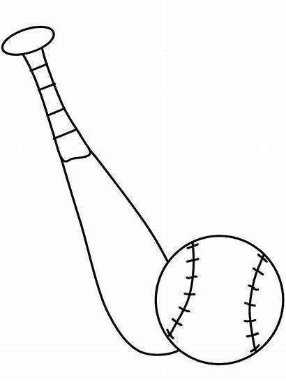 Baseball Coloring Sheets Bat Ball Roundup Ultimate